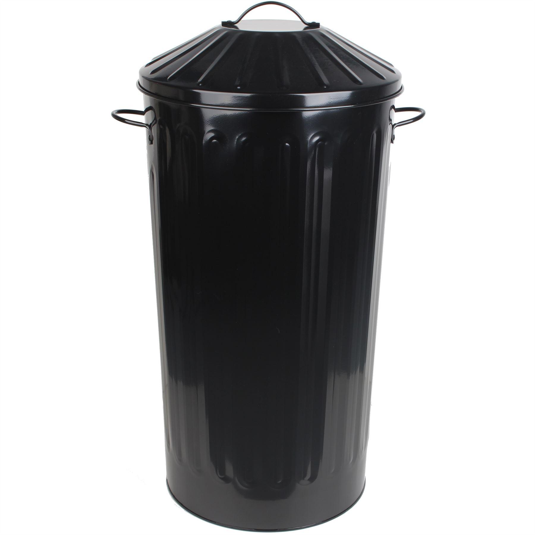 Metal 50 Litre Home Kitchen Colour Recycle Dustbin Rubbish