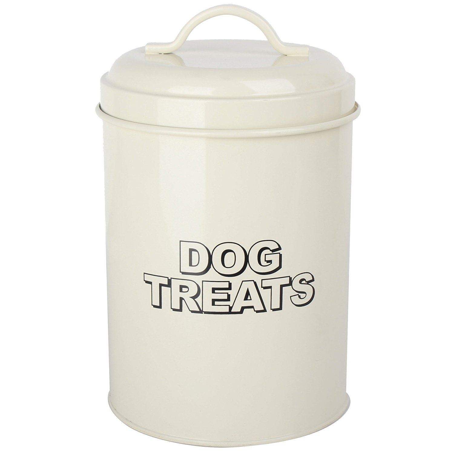 Vintage Classic Retro Dog Food Treats Storage Container
