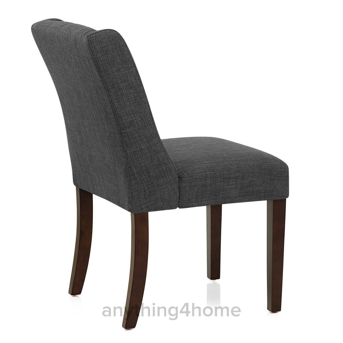 Very Impressive portraiture of   Contemporary Dining Seat Feature Buttoned Chair with Wooden Legs with #5B4E41 color and 1200x1200 pixels