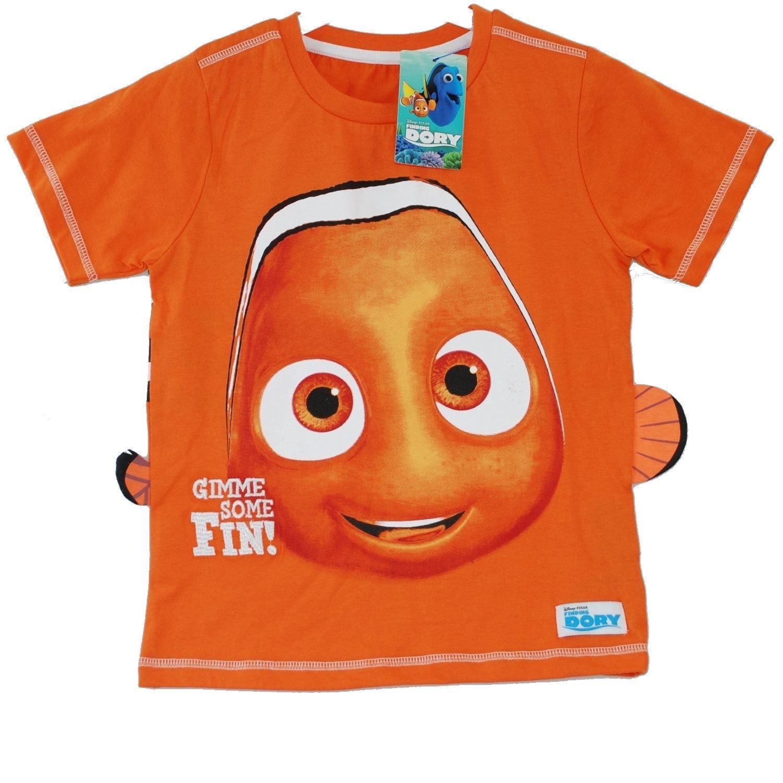 Disney pixar finding dory nemo orange t shirt with tag for Pixar logo t shirt