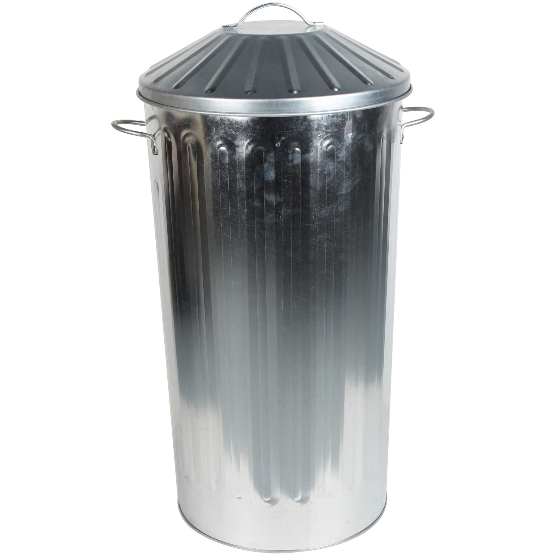 Kitchen Waste Bins: Metal 50 Litre Home Kitchen Colour Recycle Dustbin Rubbish