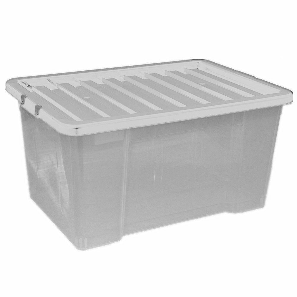 how to make a clear plastic box
