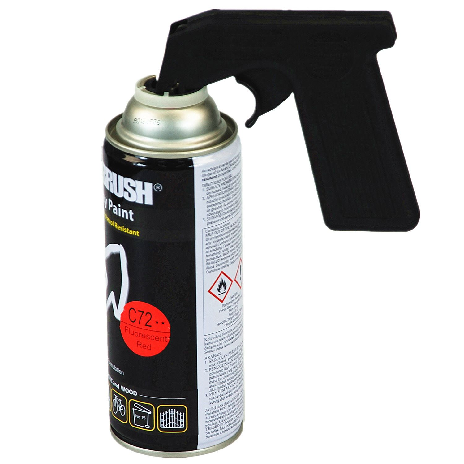 Aerosol Spray Handle Paint Applicator Tin Can Trigger Gun Lock System Ebay