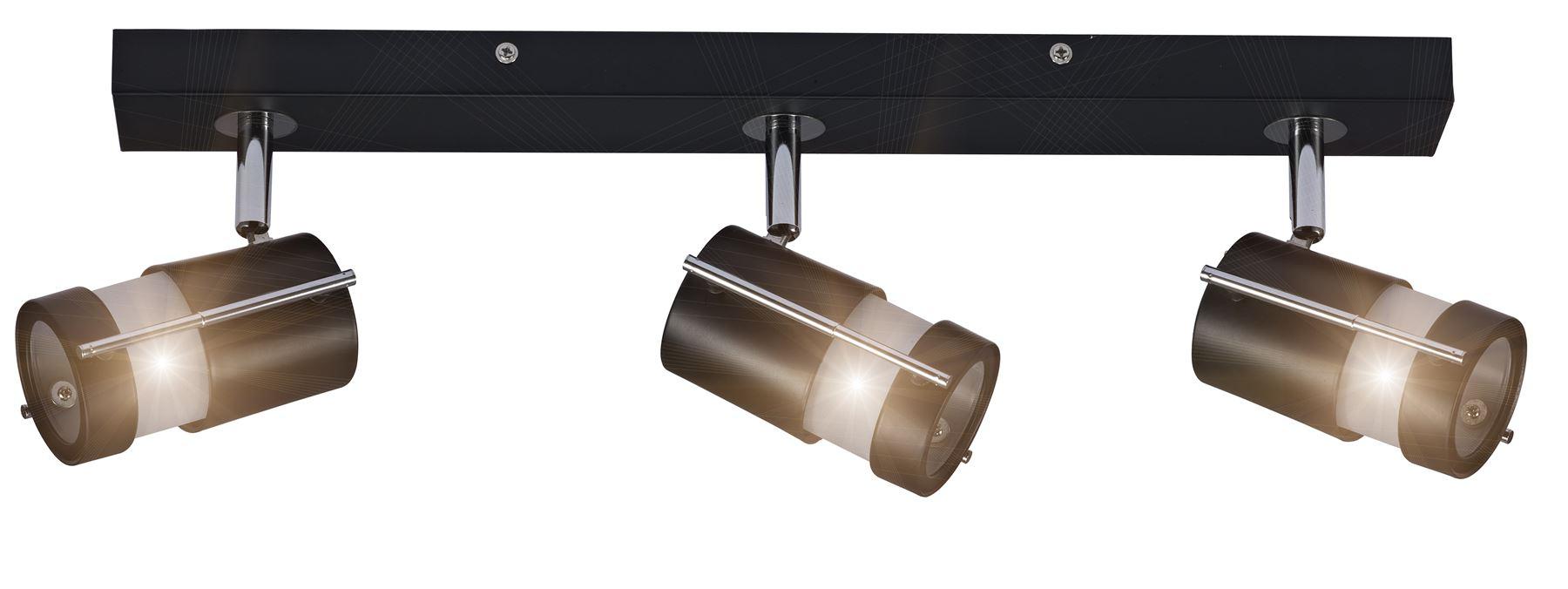 Ceiling Lights With G9 Bulbs : Ozzy or way head spotlight bar ceiling light g