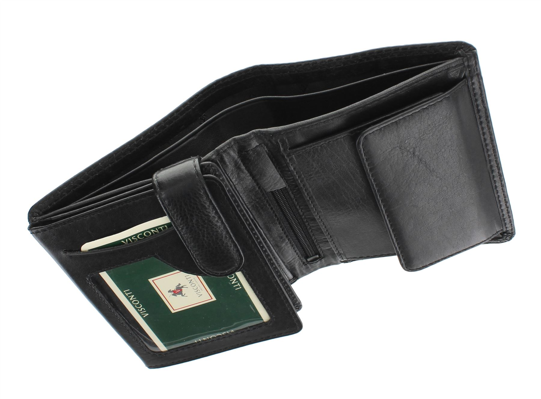 Visconti Heritage Collection BRIXTON Bi-Fold Leather Wallet HT11