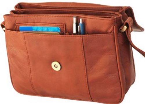 Visconti Leather Shoulder Bag Style 18079 102