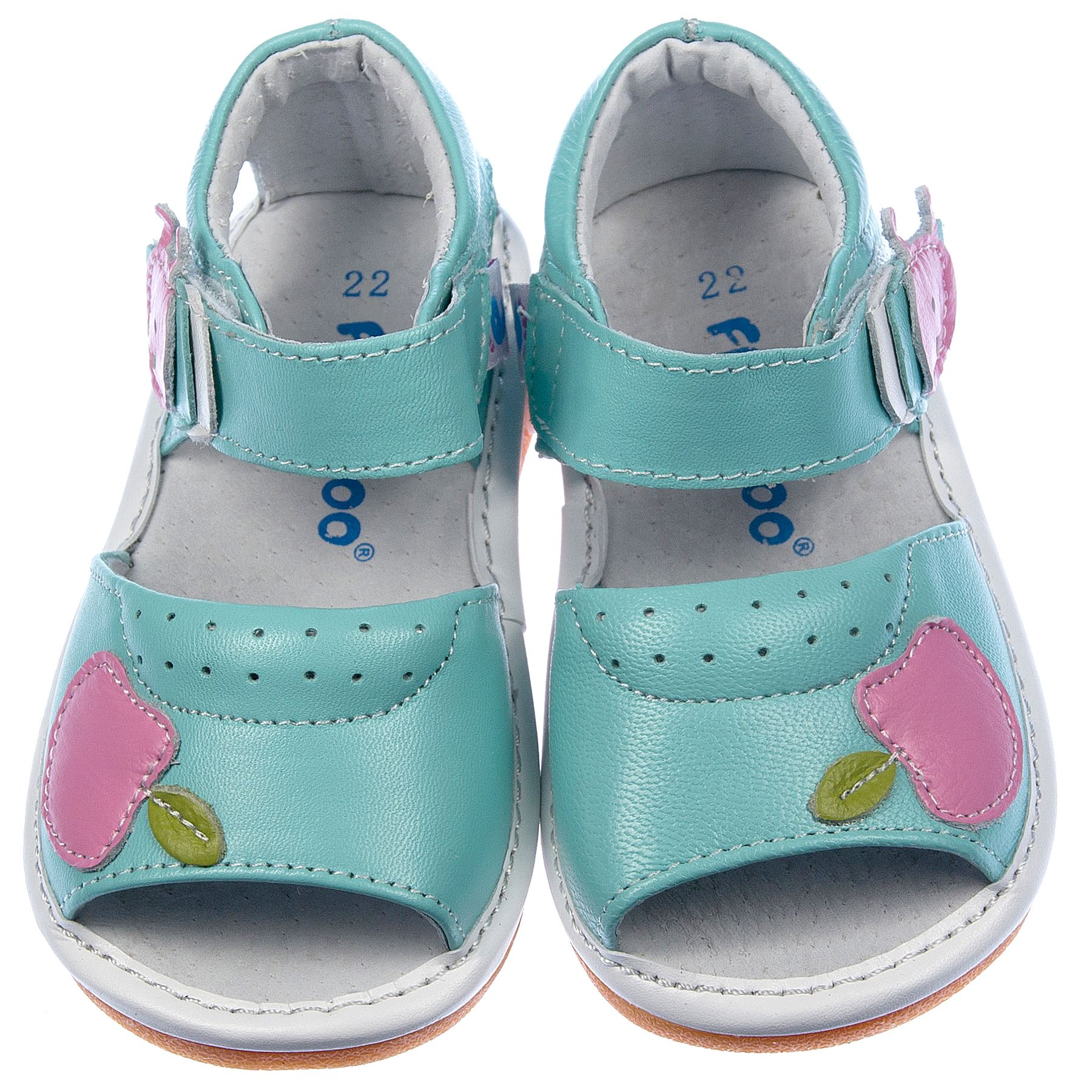 38e4d3613 Sandalias chirriantes para Niña Bebé Infantiles Piel Auténtica