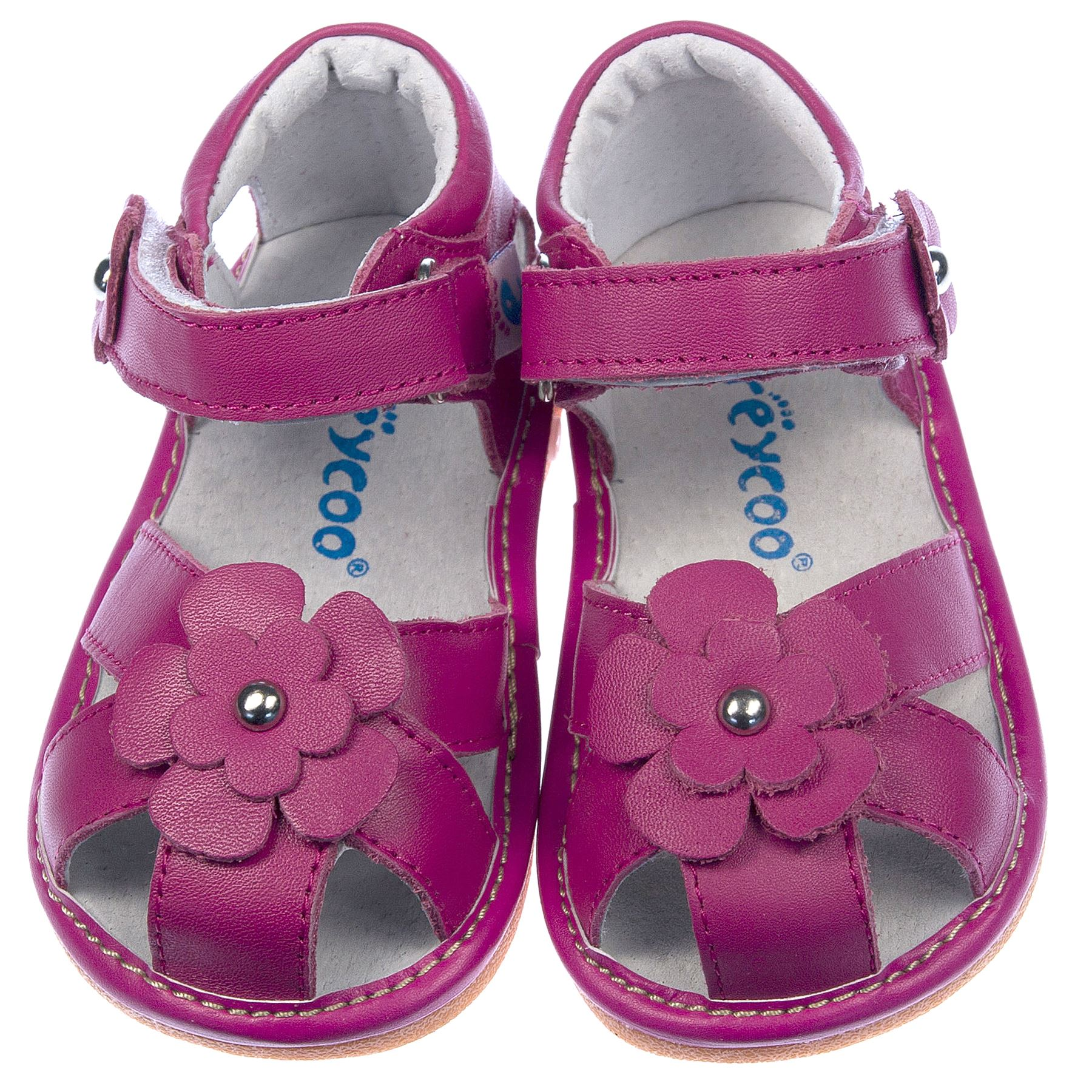 sandales chaussures fille b b enfant cuir v ritable cir rose vif pieds larges ebay. Black Bedroom Furniture Sets. Home Design Ideas