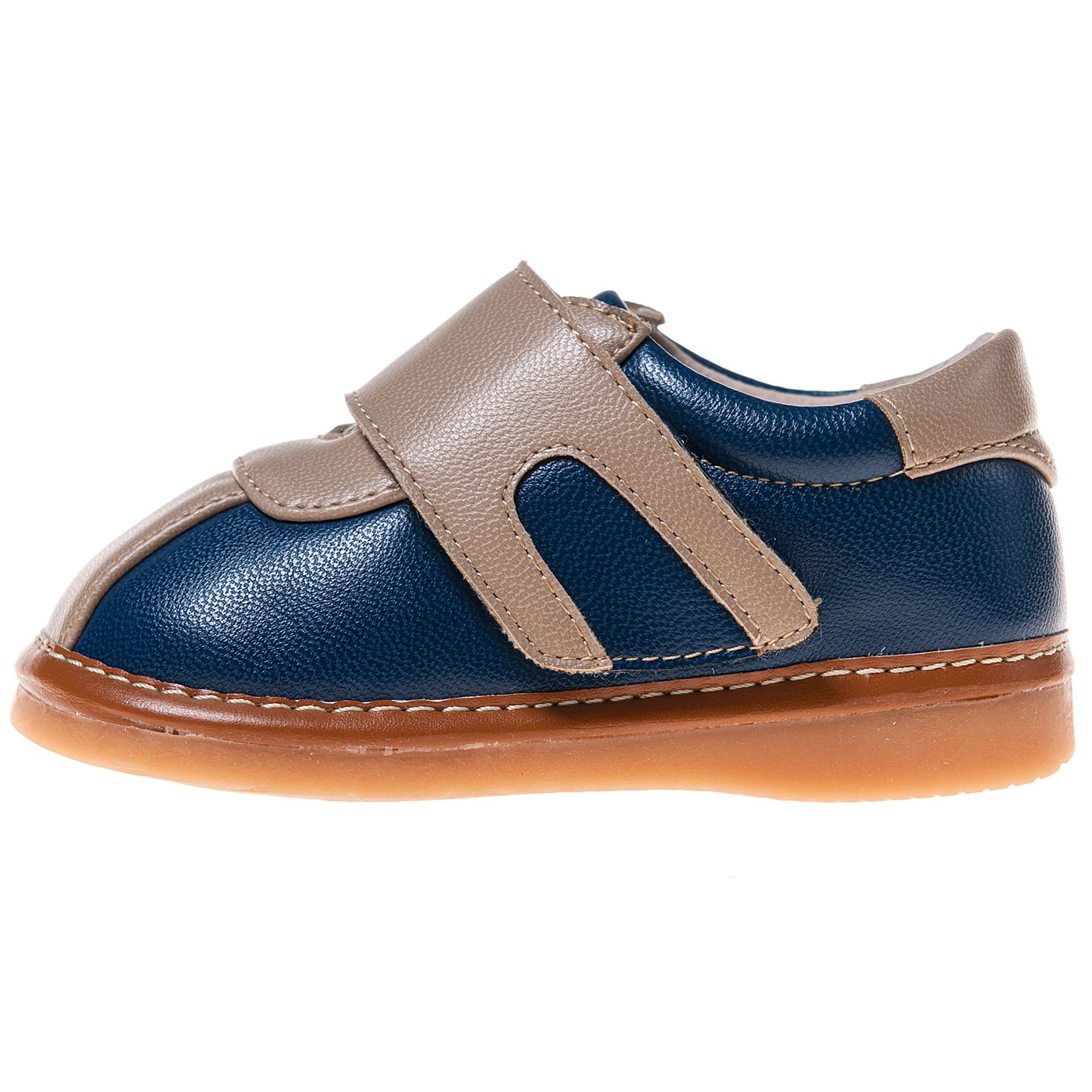 Little Blue Lamb Boys Girls Toddler Leather Squeaky Shoes ...