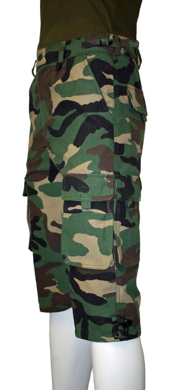 short militaire homme camouflage combat safari 30 44. Black Bedroom Furniture Sets. Home Design Ideas