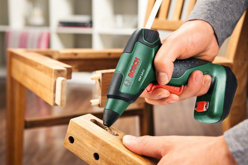 bosch pkp 3 6 li cordless glue gun 0603264670 ebay. Black Bedroom Furniture Sets. Home Design Ideas