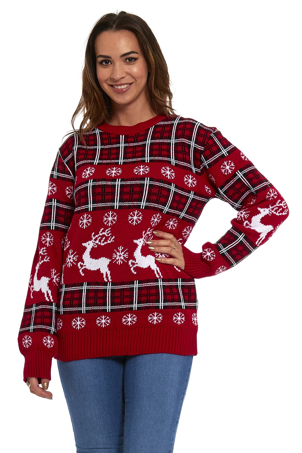 The 12 Jumpers of Christmas. With Christmas fast approaching, now is the time to start thinking about your holiday knits. Whether it's for yourself or your loved ones, we've compiled 12 festive designs to help you find the perfect pattern.. loveknitting presents The 12 Jumpers of Christmas. 1.