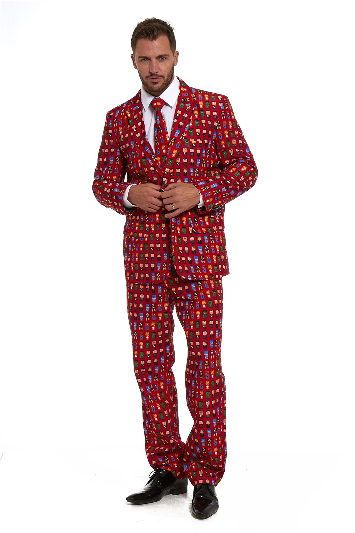 New Mens Stand Out Stag Do Suits Party Christmas Xmas 2016 Dress ...
