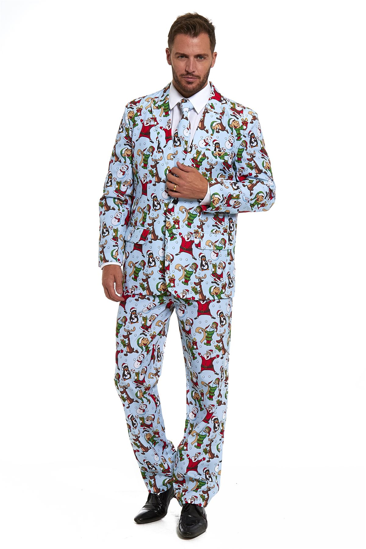 New Mens Stag Stand Out Stag Do Suits Party Funny Fancy ...
