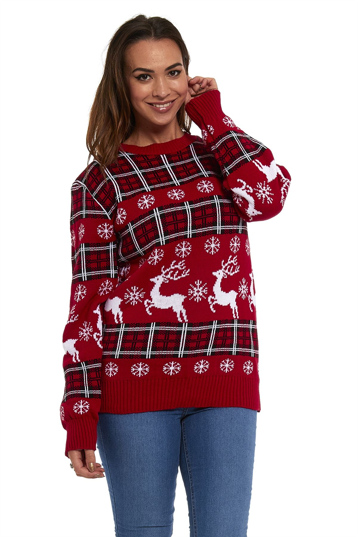 Mens Ladies Christmas Xmas Unisex Novelty Knitted Jumpers ...