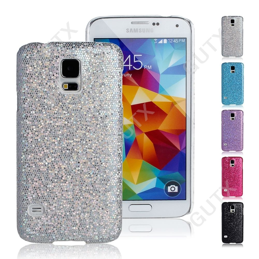glitter sequins bling hard case cover for samsung galaxy
