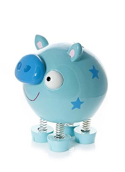Adult Children 39 S Blue Pig Piggy Bank Money Bank Gift Boys