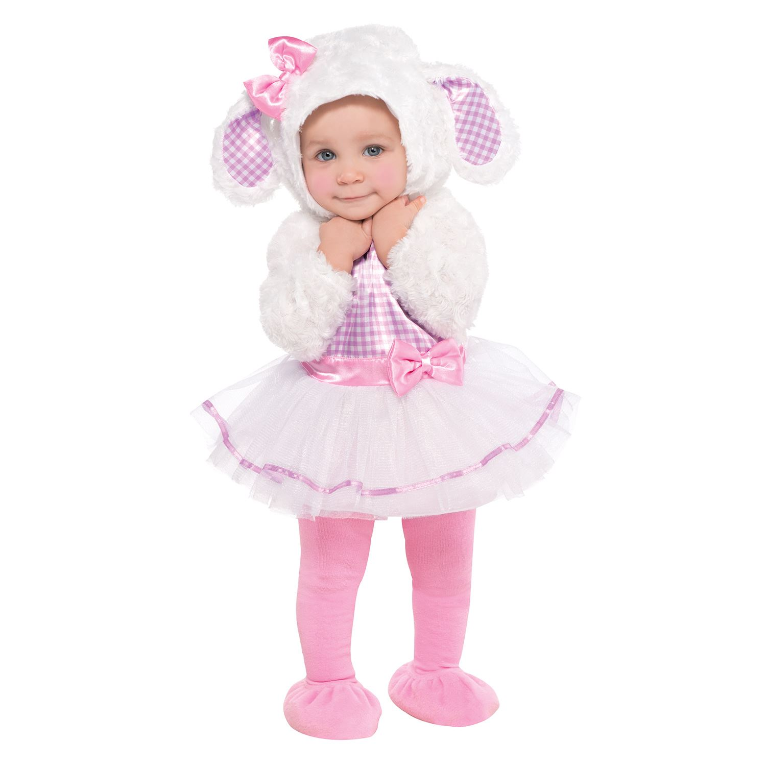 Toddler Baby Babies Lamb Sheep Easter Fancy Dress Costume plete