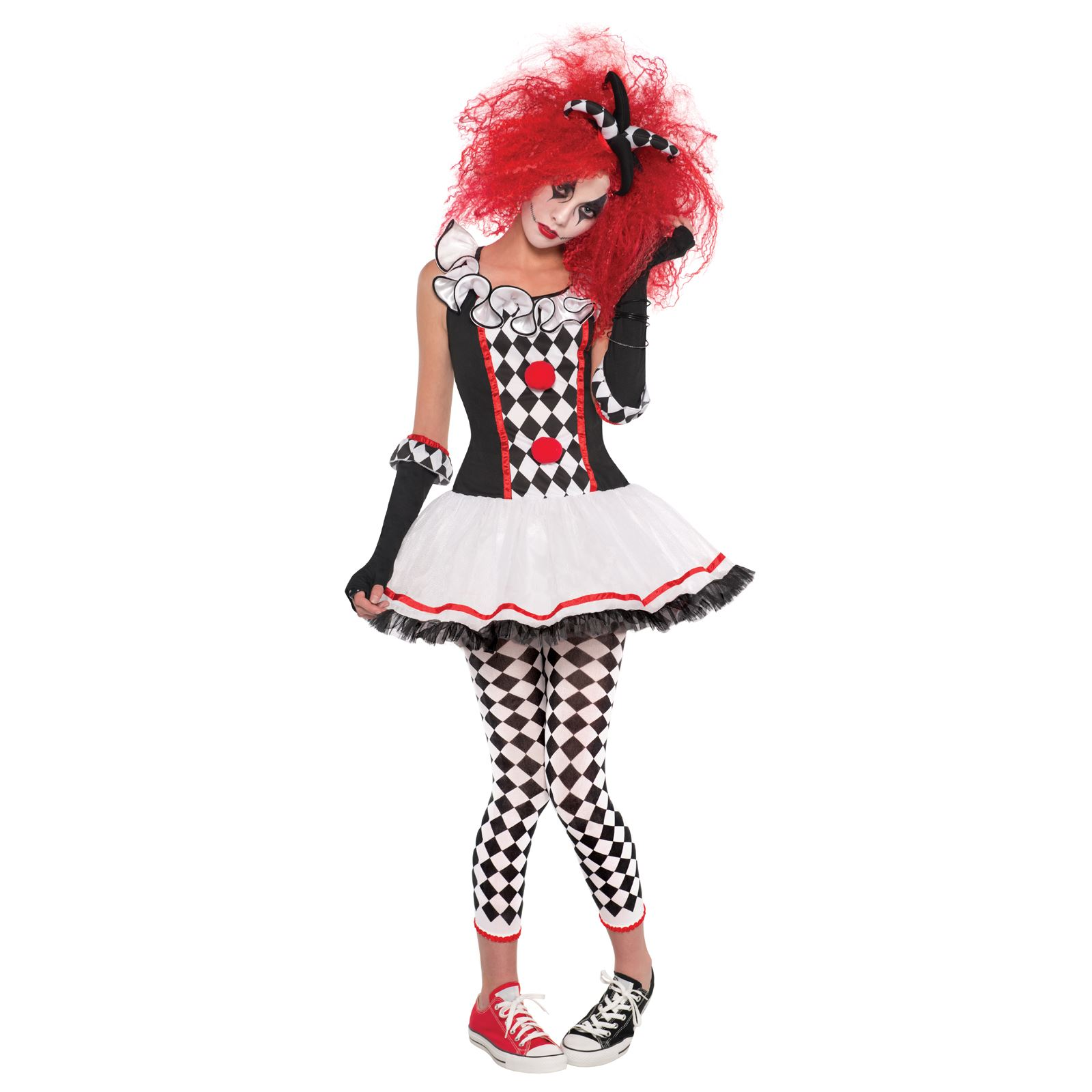 Sexy scary clown costumes