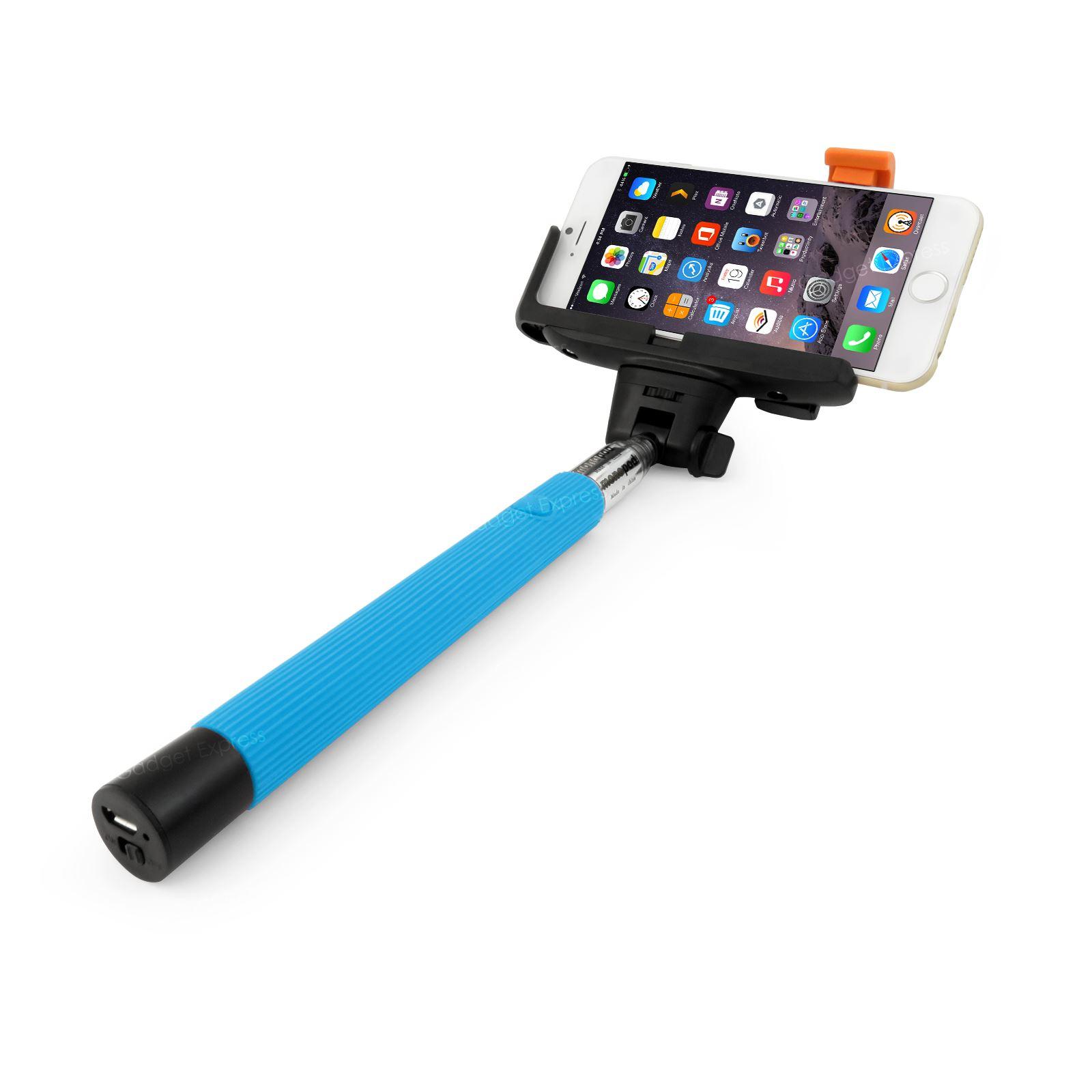 monopod selfie stick wireless telescopic bluetooth remote mobile phone. Black Bedroom Furniture Sets. Home Design Ideas