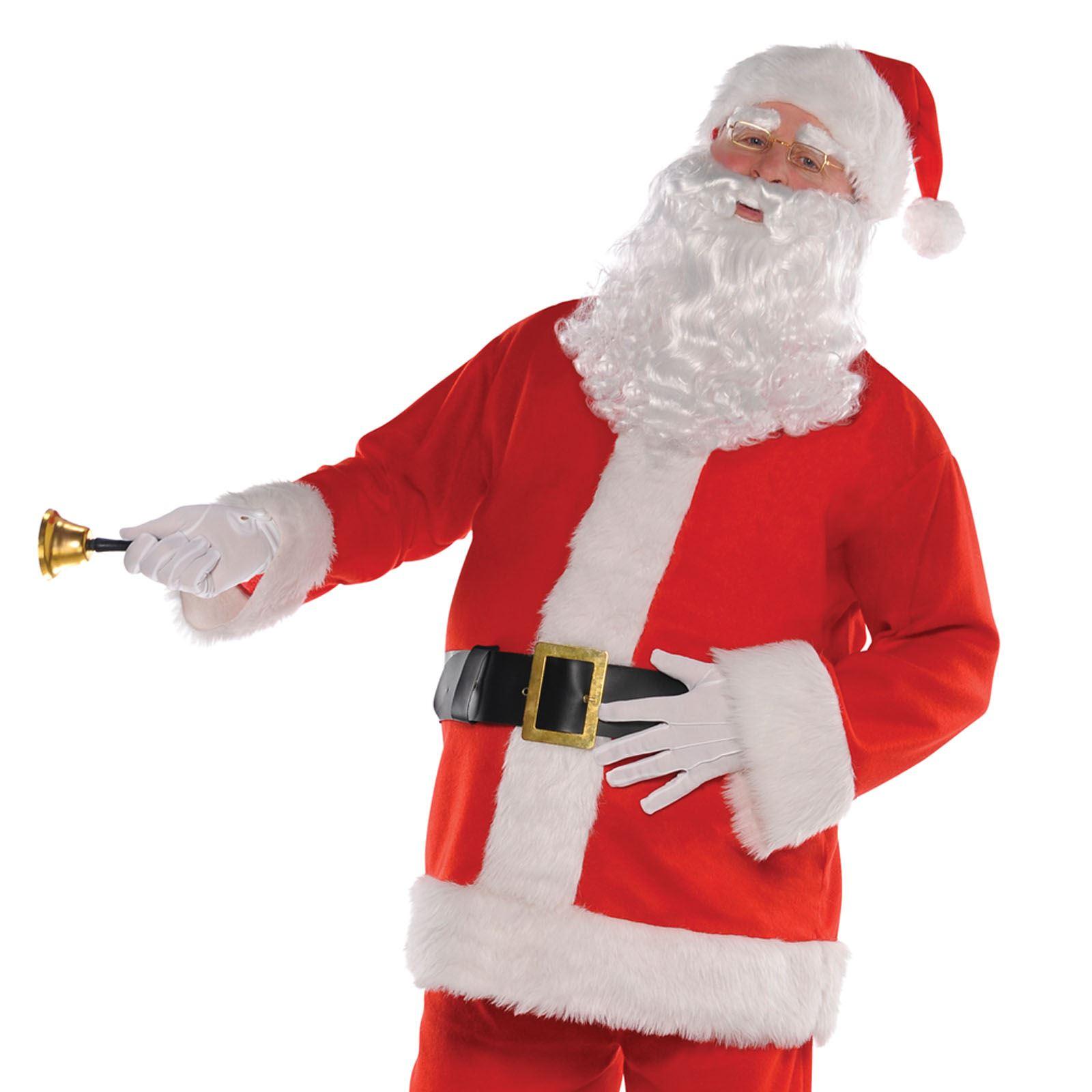 Men-039-s-Classic-Regal-Santa-Claus-Father-  sc 1 st  eBay & Menu0027s Classic Regal Santa Claus Father Christmas Suit Fancy Dress ...