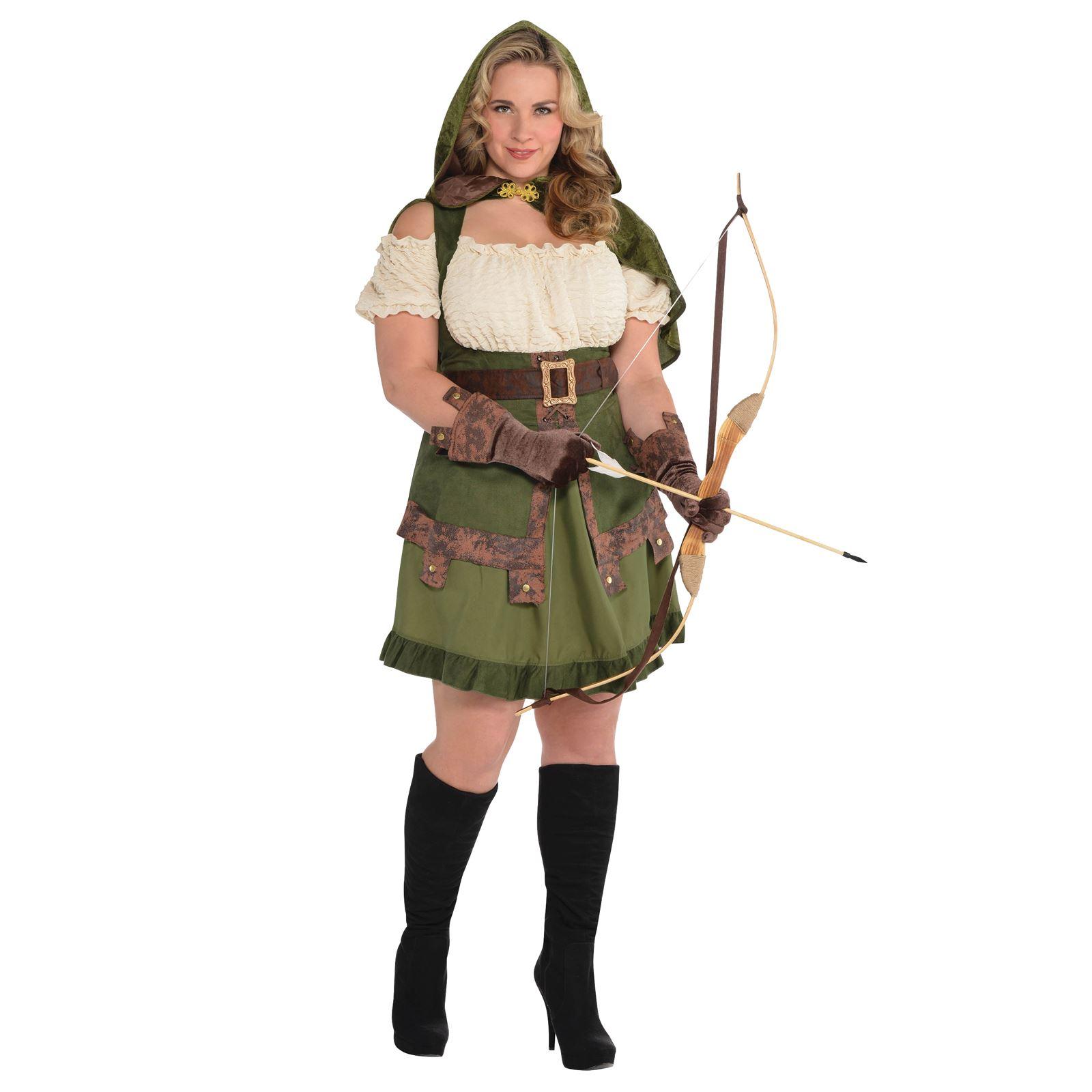 Ladies Medieval Elf Elven Archer Robin Hood Maid Marion ...