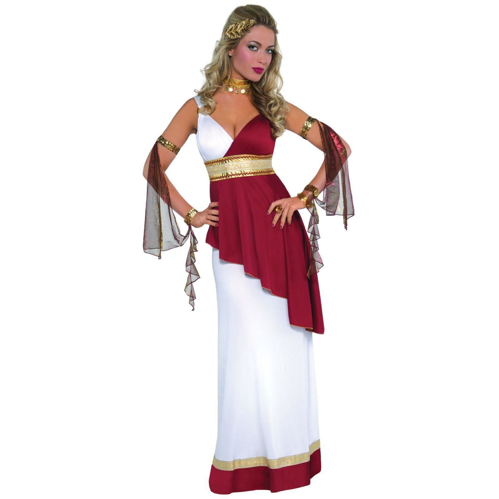 greek goddess roman grecian fancy dress costume womens. Black Bedroom Furniture Sets. Home Design Ideas