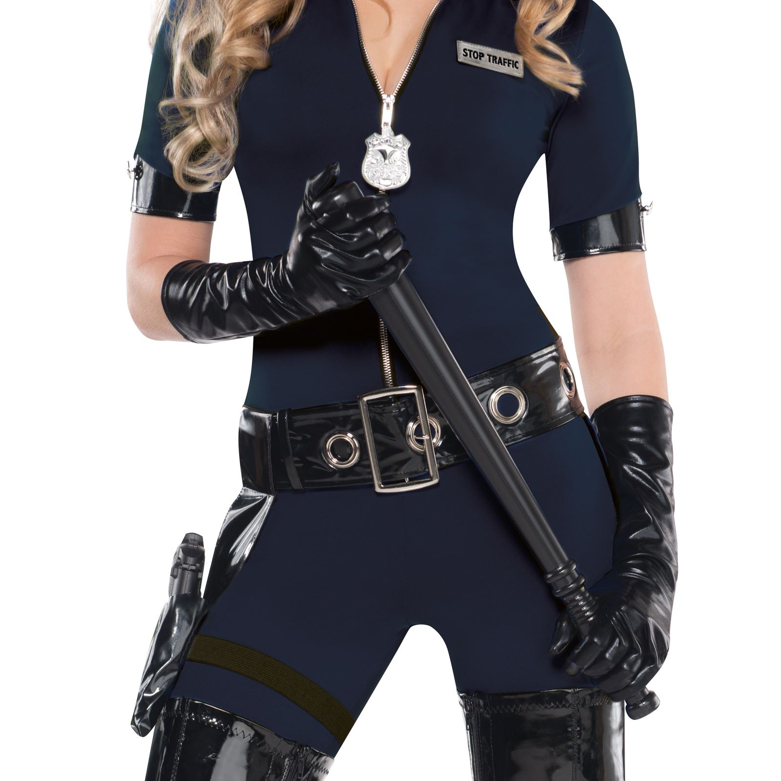 Ladies police cop halloween costume fancy dress sexy outfit officer ladies police cop halloween costume fancy dress sexy solutioingenieria Images