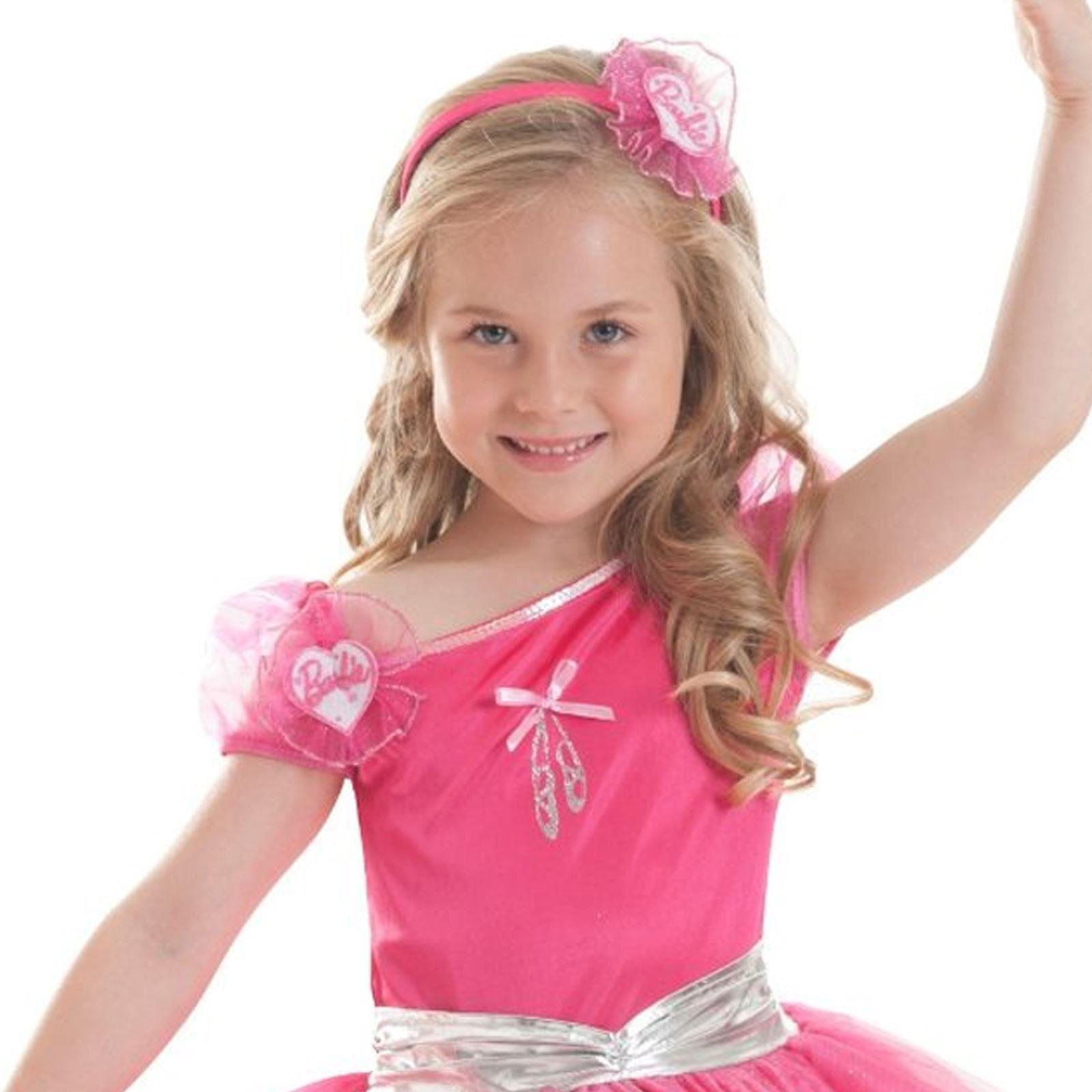 Christmas Pink Dress Princess Tutu Ballerina Fashion Barbie Fancy ...