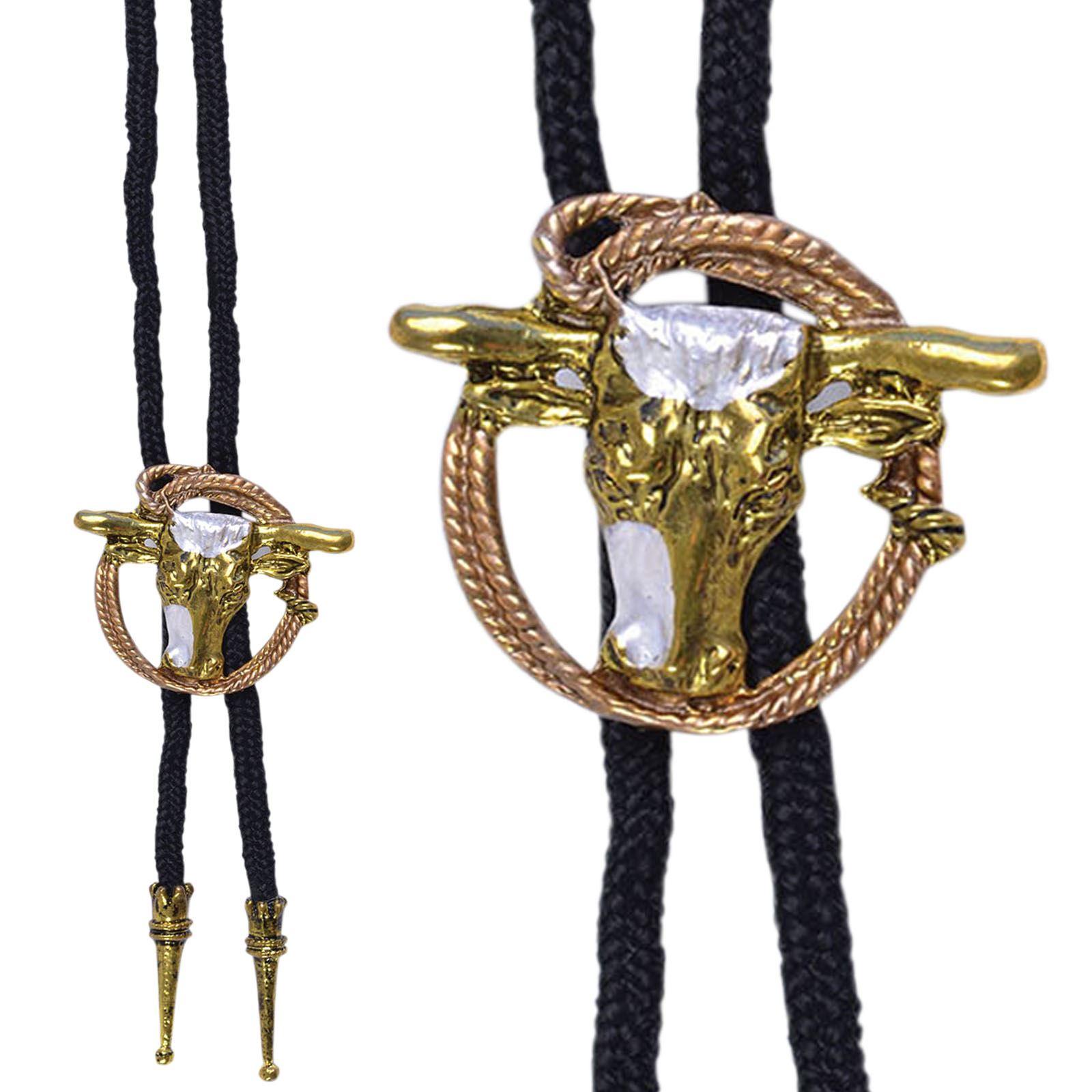 cowboy bootlace bolo tie fancy dress costume jewellery