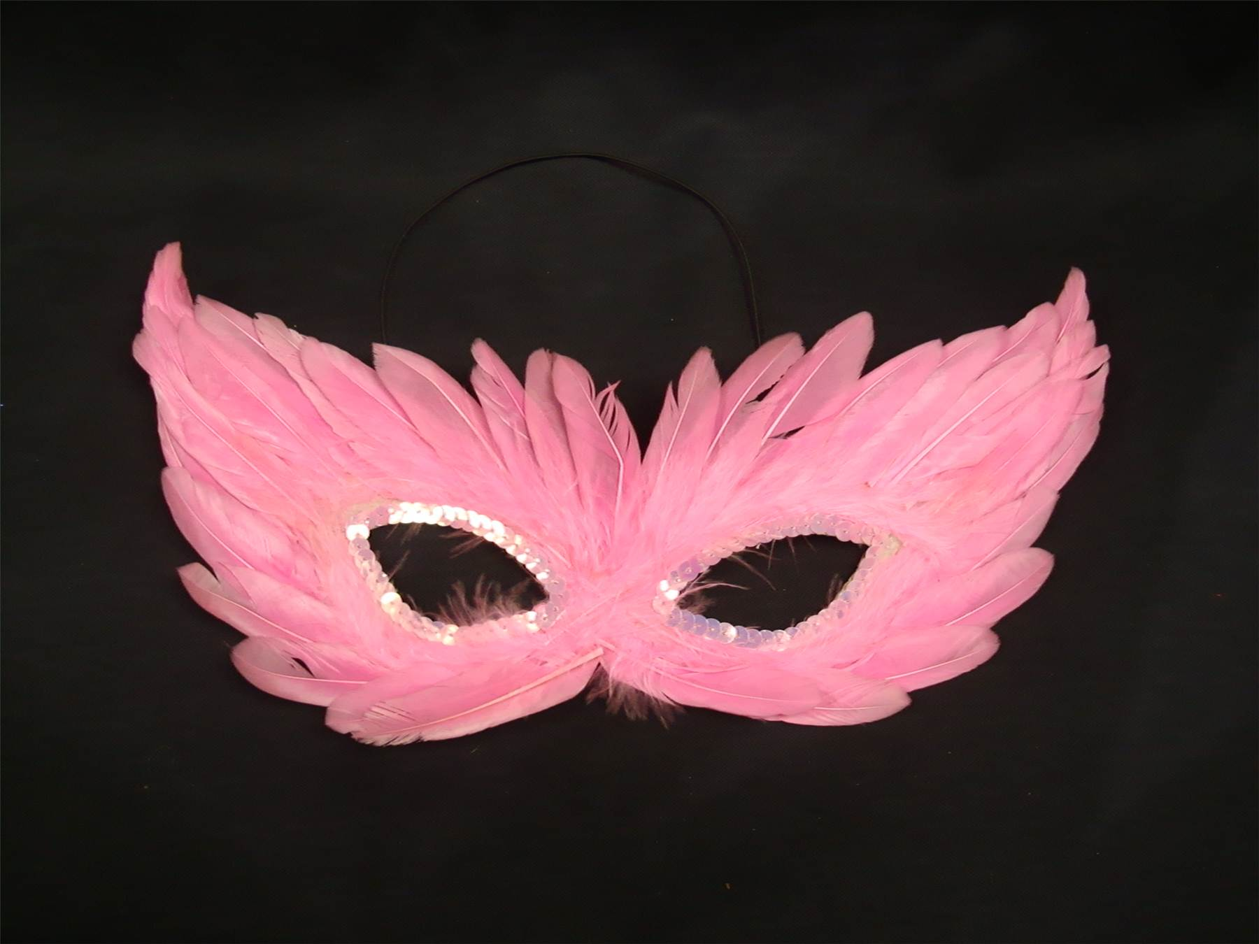Venetian Fancy Dress Feather Eye Mask Masquerade Hallowen Party Ball ...