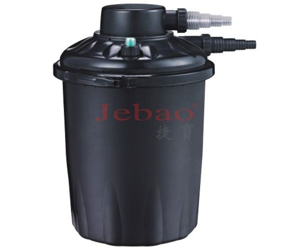 Jebao uv pond pressure filter system 4000 15000 filtration for Pond filter box with uv light
