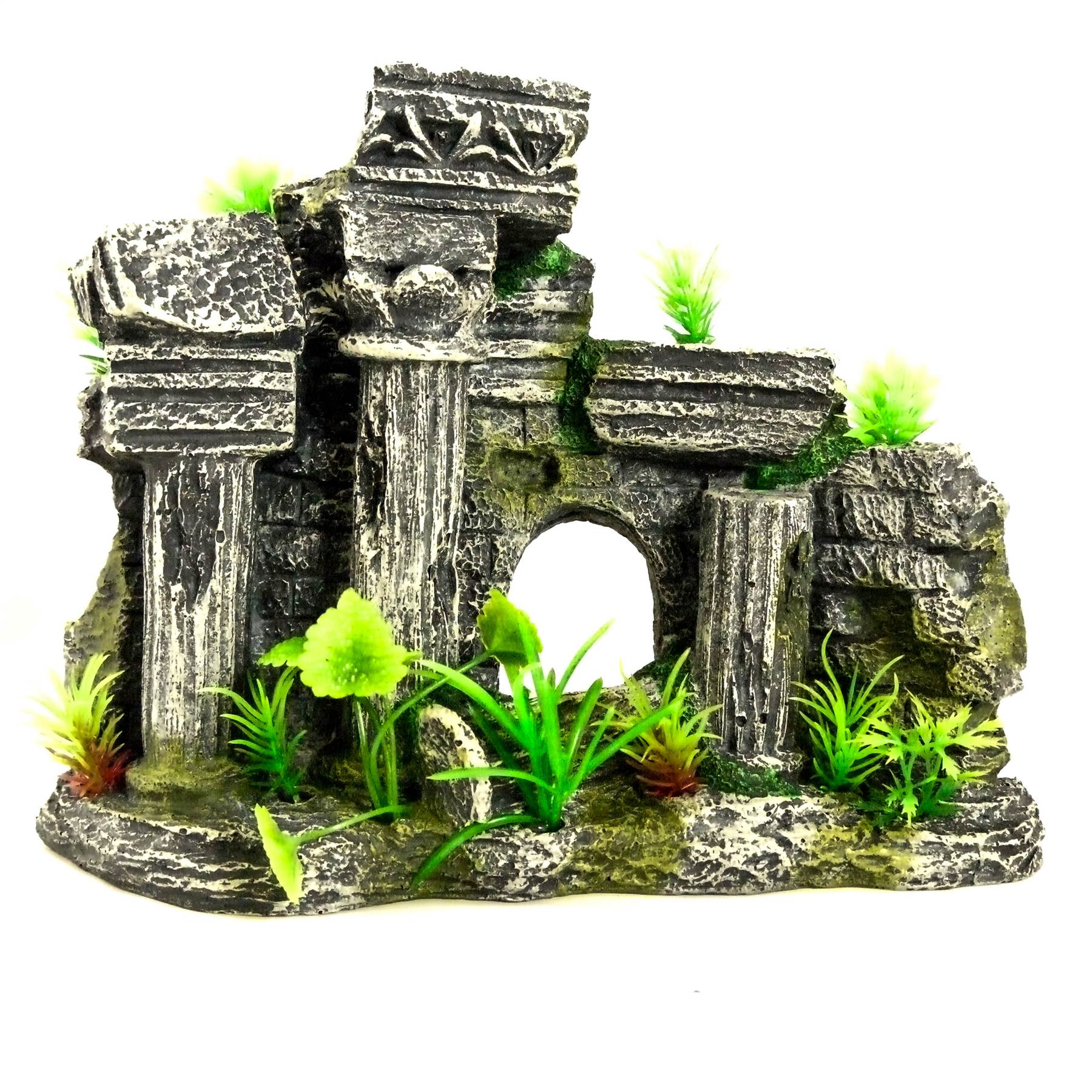 Atlantis ruin aquarium ornament fish tank decoration for Aquarium decoration ornaments
