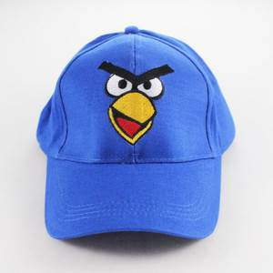 Angry-Baseball-Snapback-Cap-Visor-Blue-Black-Red-Yellow-Boys-Girls