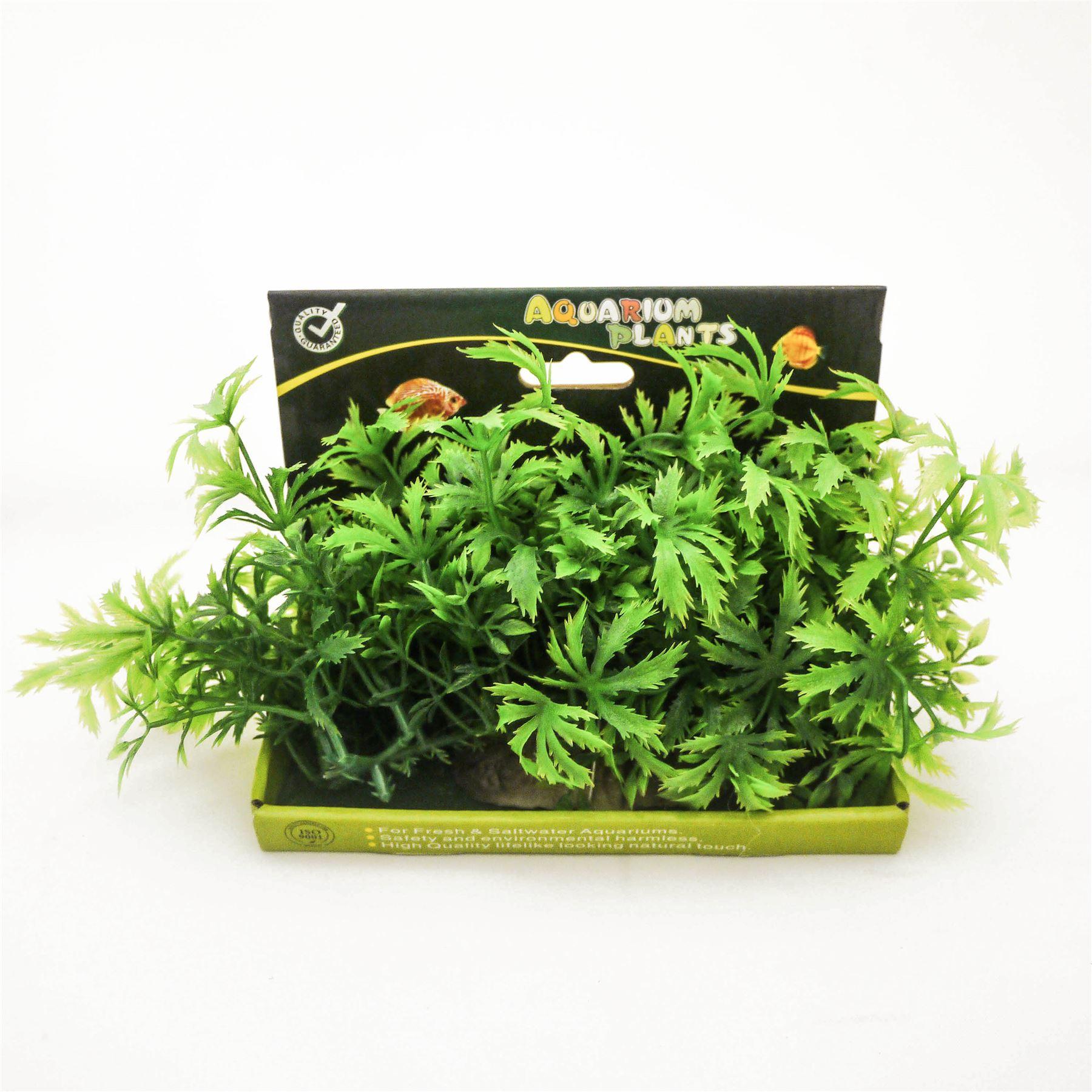 Ensemble plante artificielle aquarium poisson plastique for Aquarium plastique
