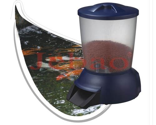 Jebao automatic pond fish pellet feeder timer dispencer for Automatic pond fish feeder