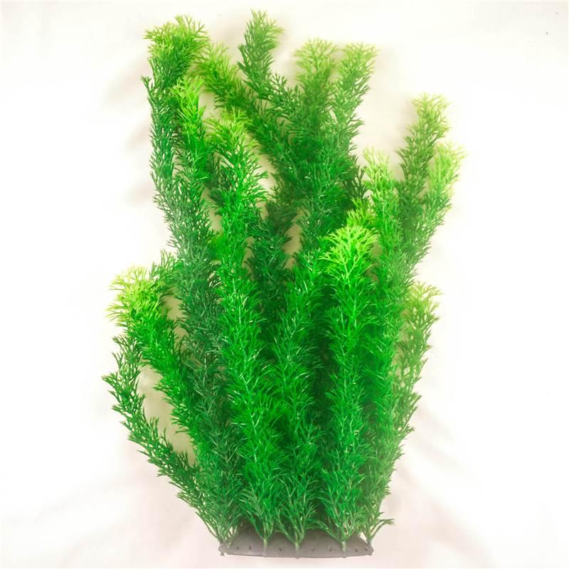 Artificial aquarium marine tropical plants fish tank for Plant fish tank