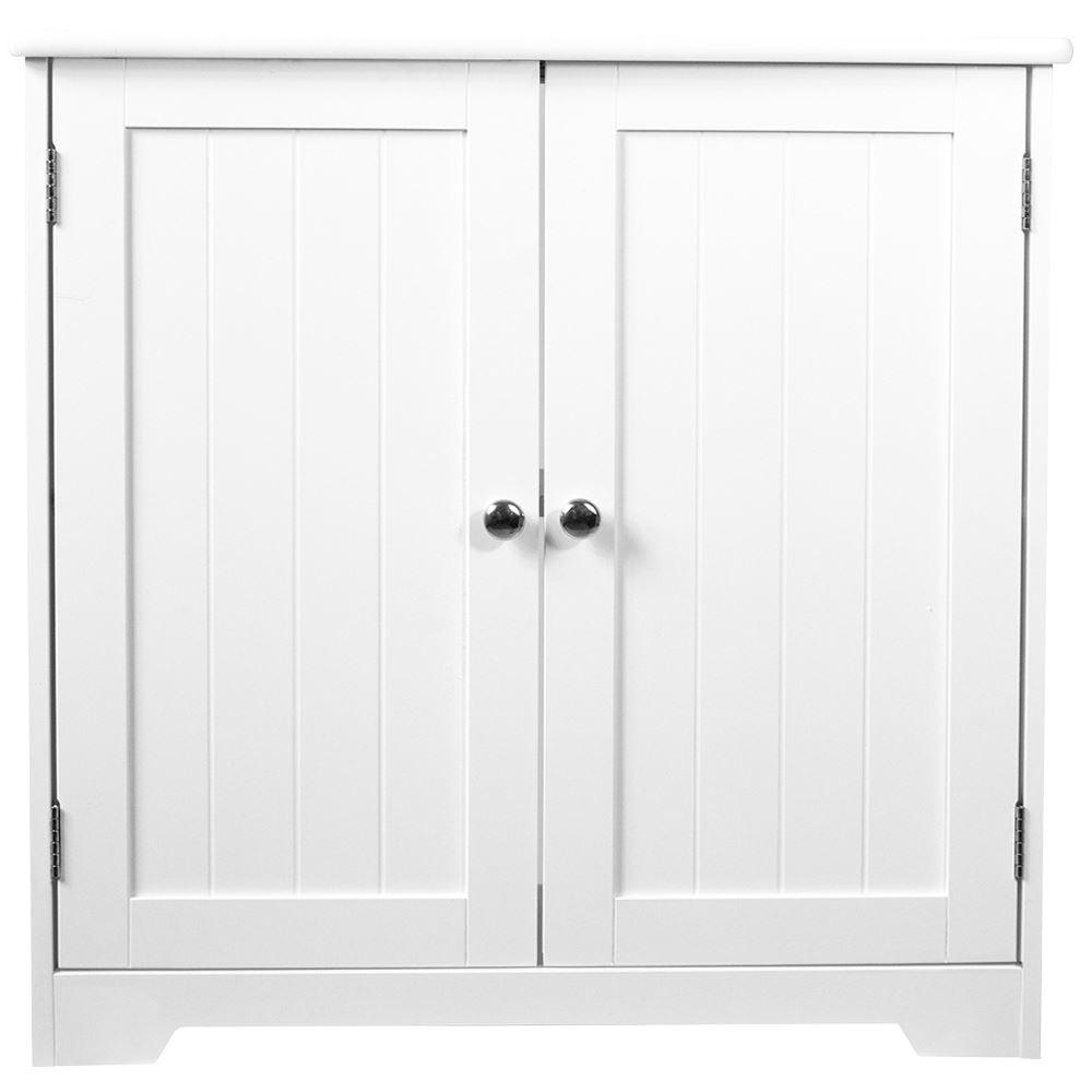 Bathroom Cabinet Door Drawer Wall Mounted Storage Free Standing Units