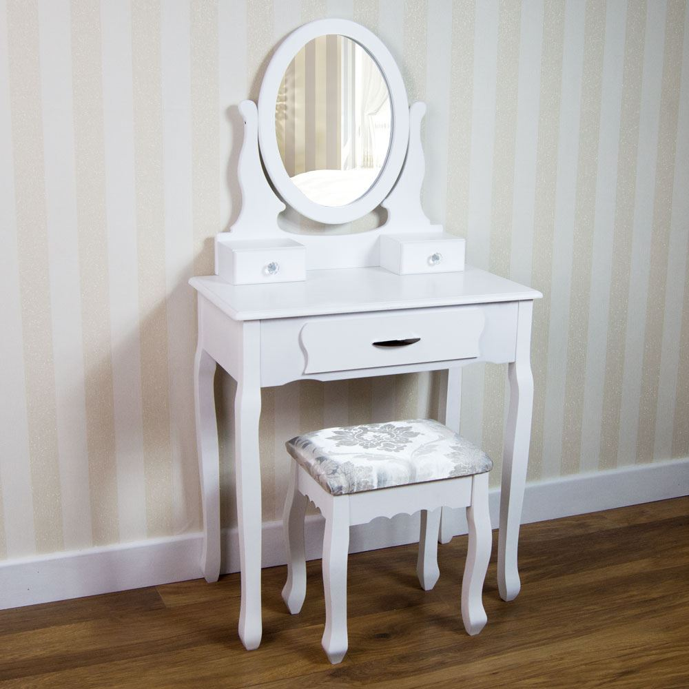 Table In Bedroom Nishano Dressing Table Drawer Stool Mirror Bedroom Makeup Desk