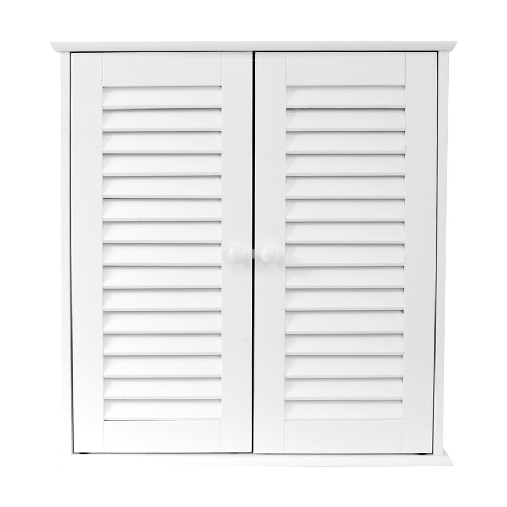 Tallboy Bathroom Cabinets Liano Bathroom Cabinet Single Double Shutter Door Wall Mounted