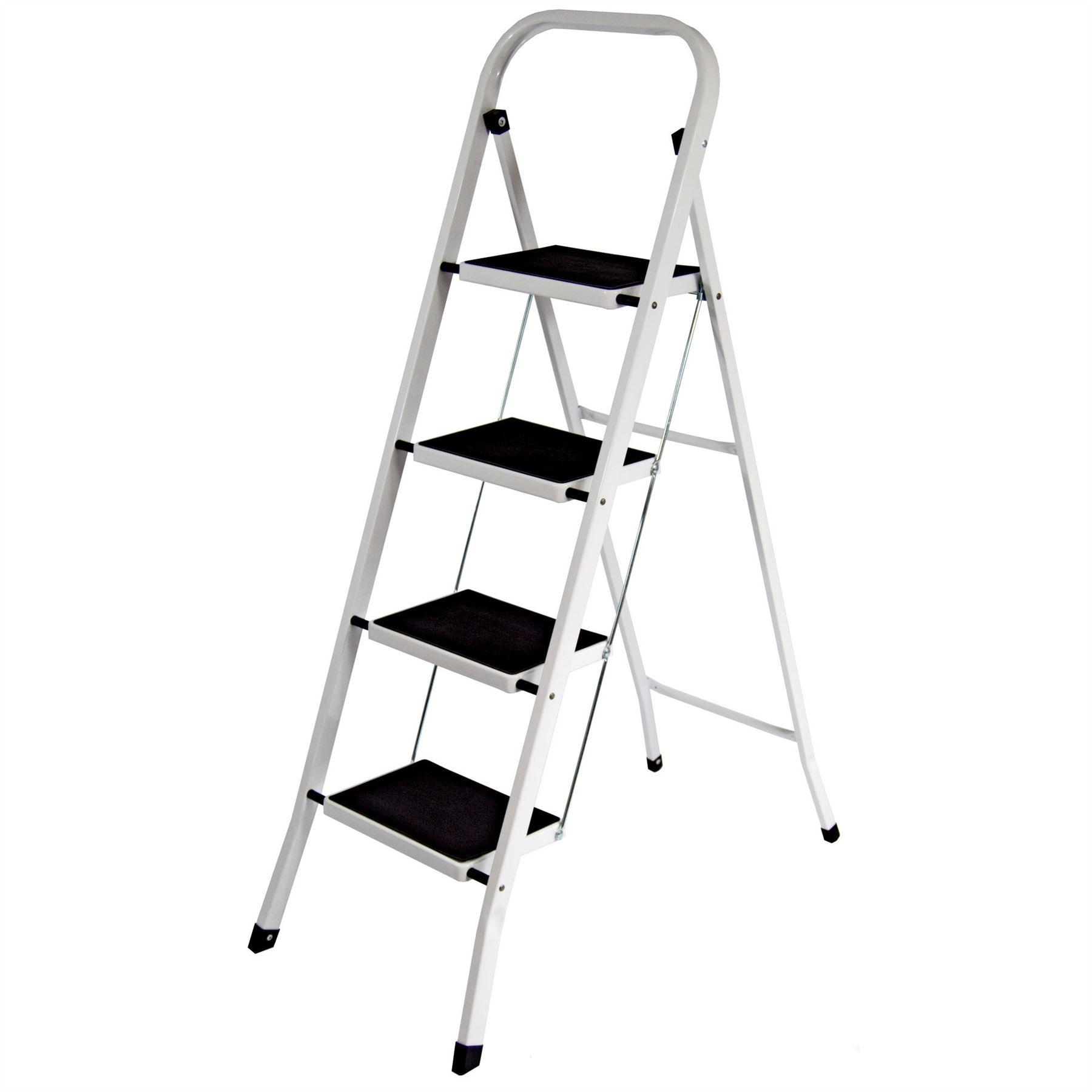 Diy Portable Handrails : Step ladder safety anti slip rubber mat tread handrail