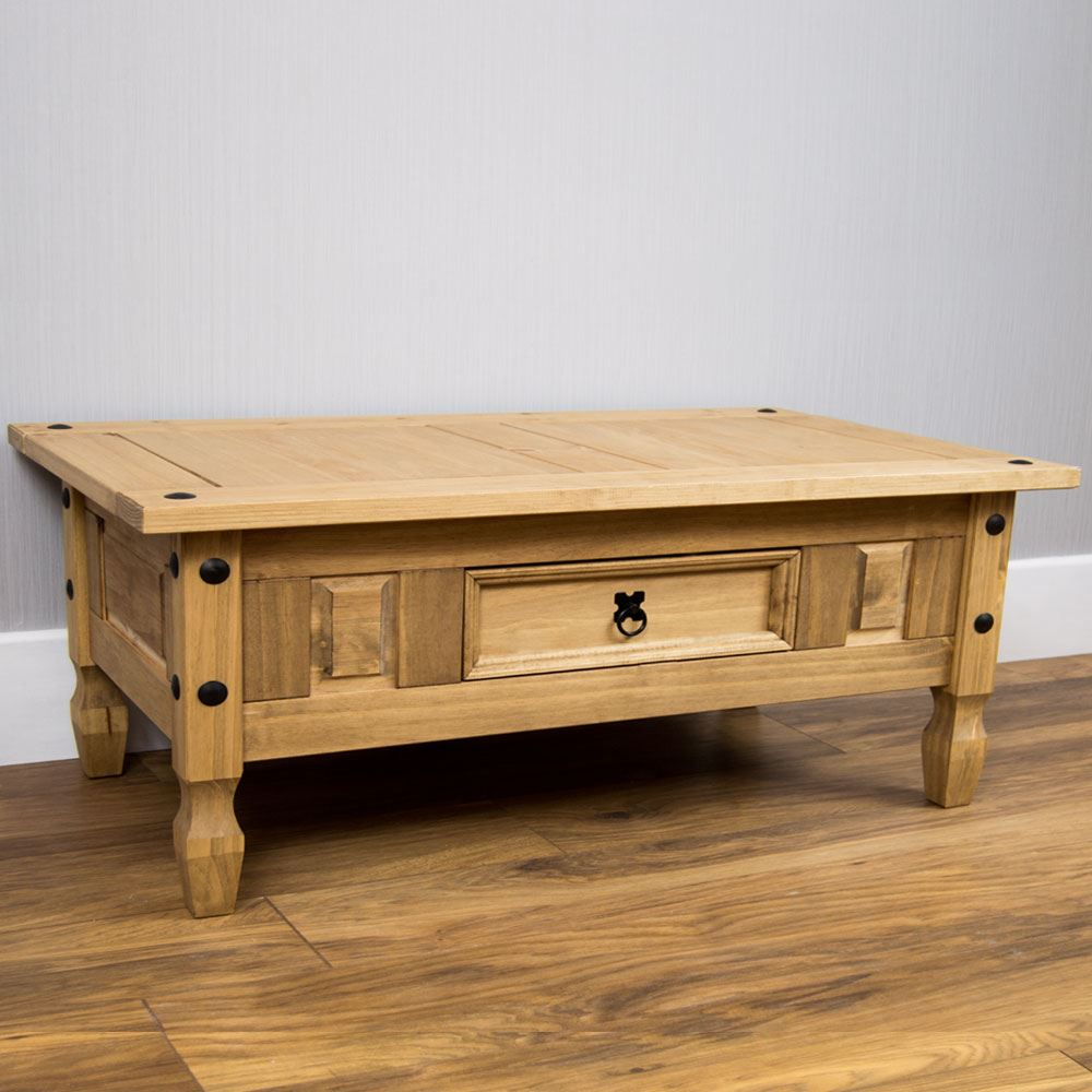 Corona Solid Pine Mexican Living Room Furniture Coffee Table By Home Discount Ebay
