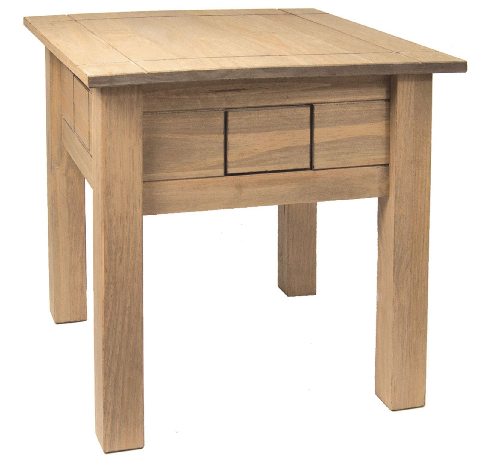 Panama Lamp Table Nest Of 2 Tables 1 Drawer Coffee Table In Pine Natural Oak Ebay