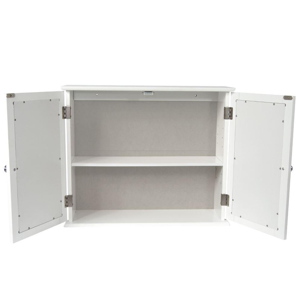 Single Hung Cabinets : Bathroom cabinet single double door wall mounted tallboy