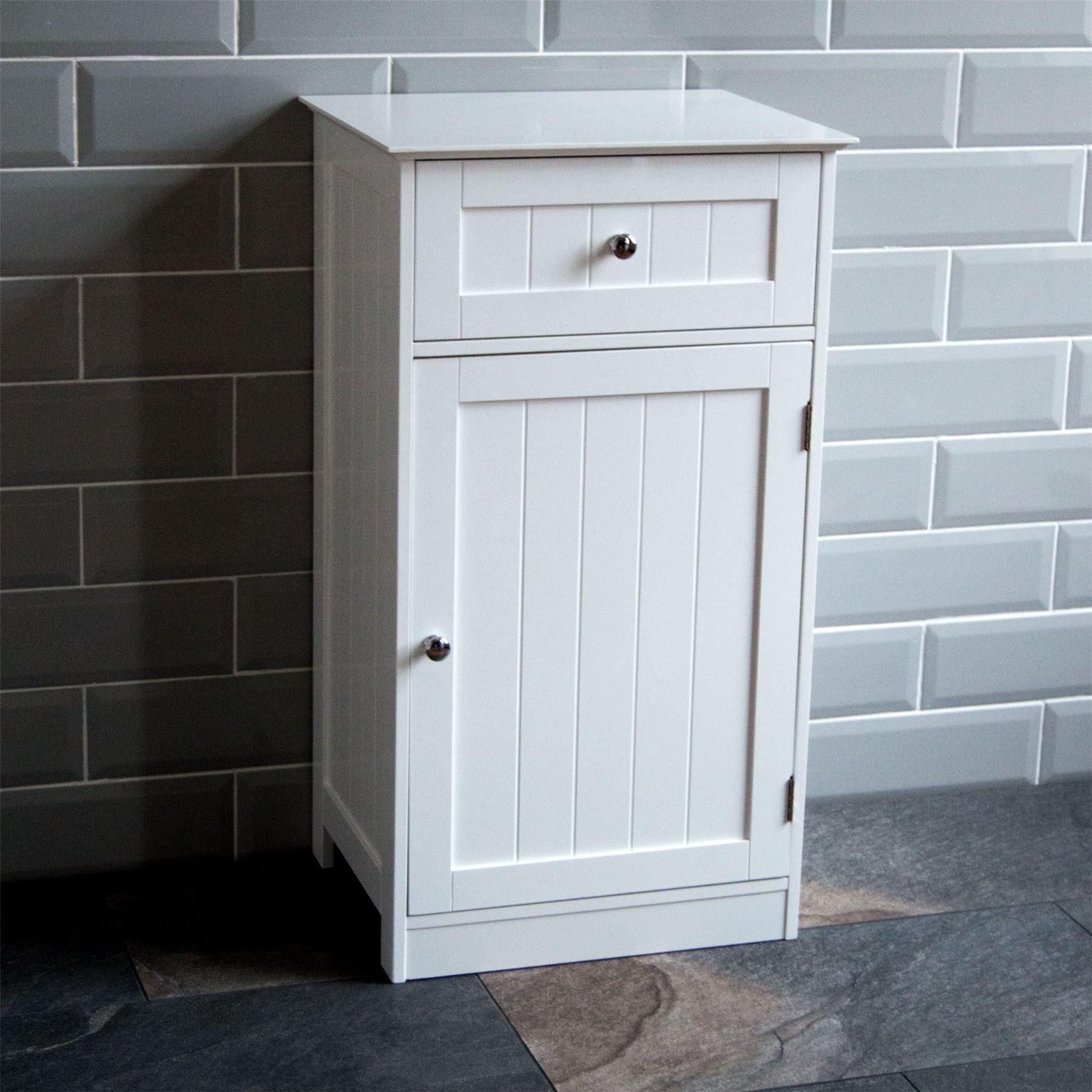 Bathroom Cabinet Single Double Door Wall Mounted Tallboy