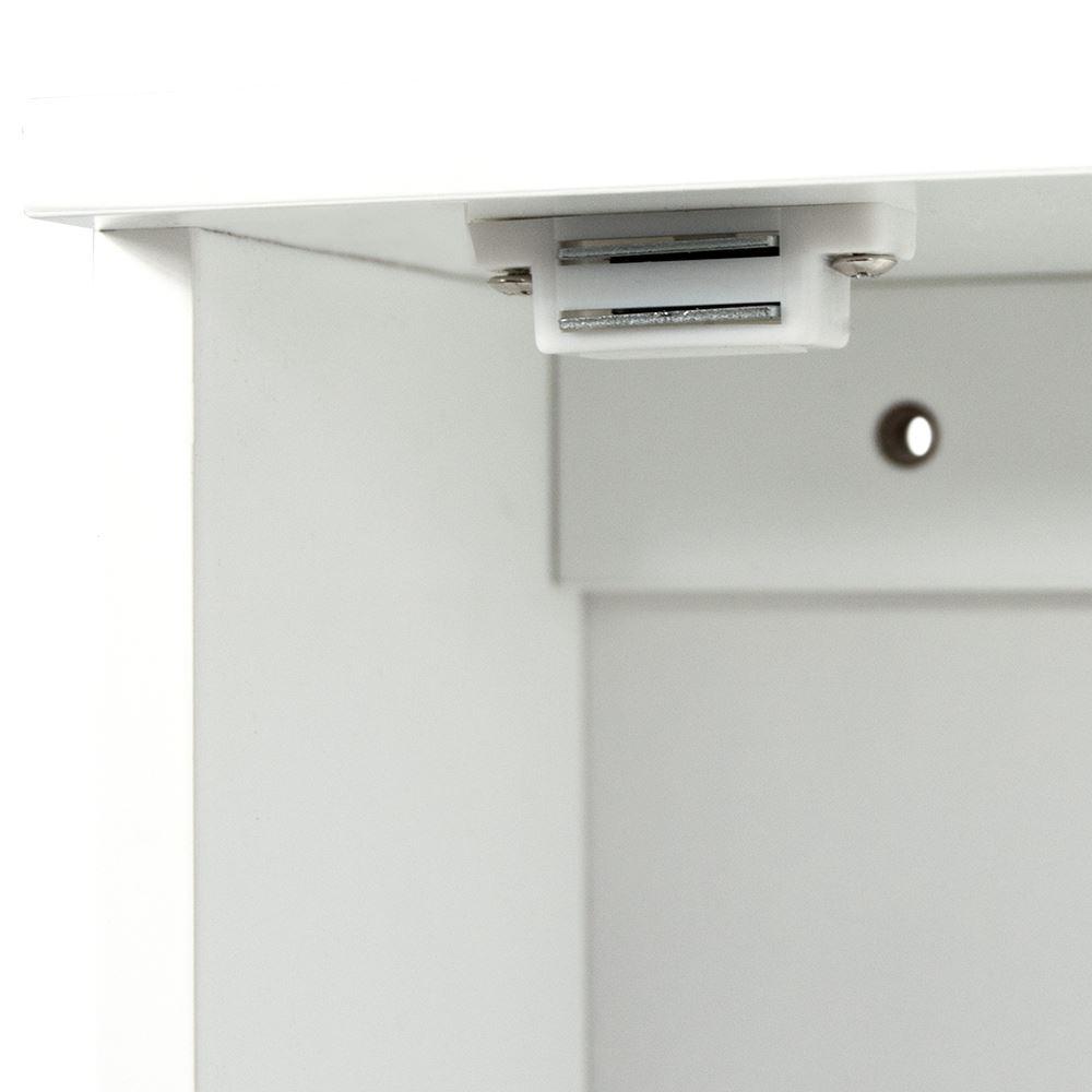 Priano Bathroom White Wall Mounted Cabinet Wooden Single Door Storage Unit Ebay