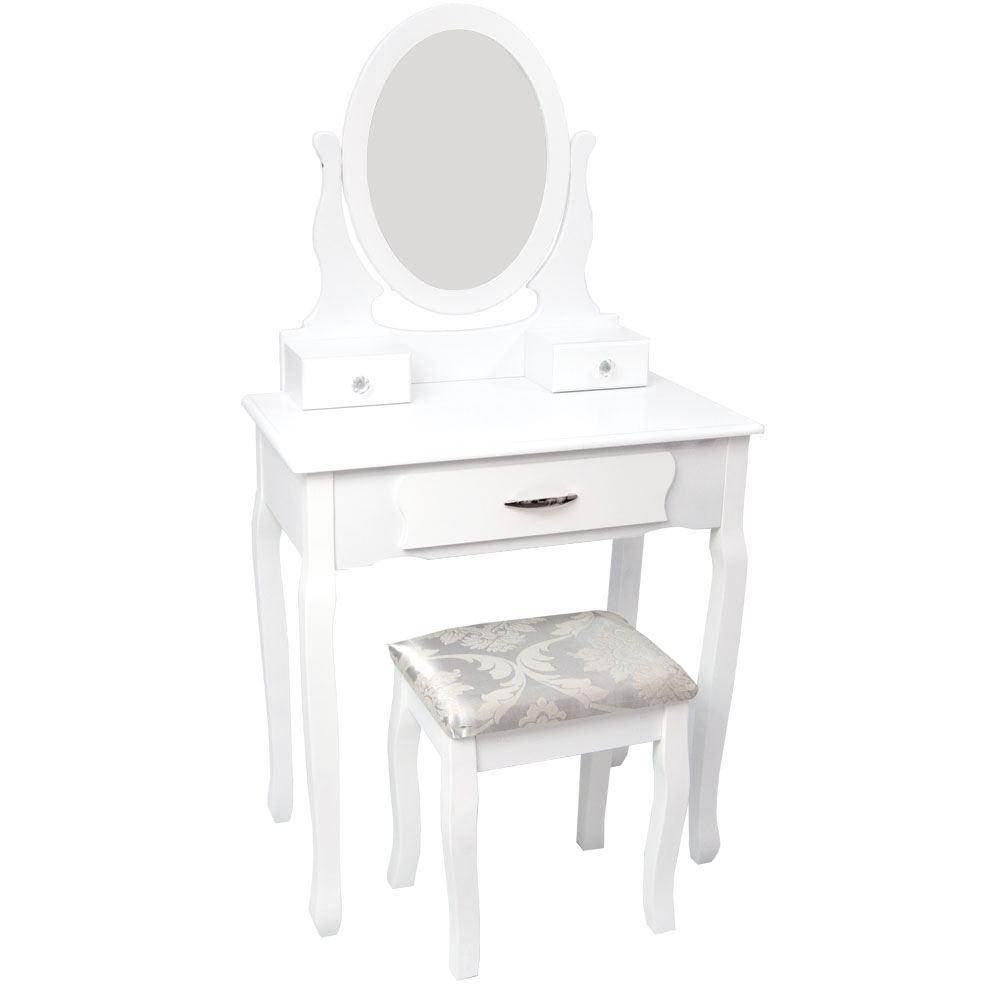 nishano furniture dressing table cheval jewellery cabinet mirror black white ebay. Black Bedroom Furniture Sets. Home Design Ideas