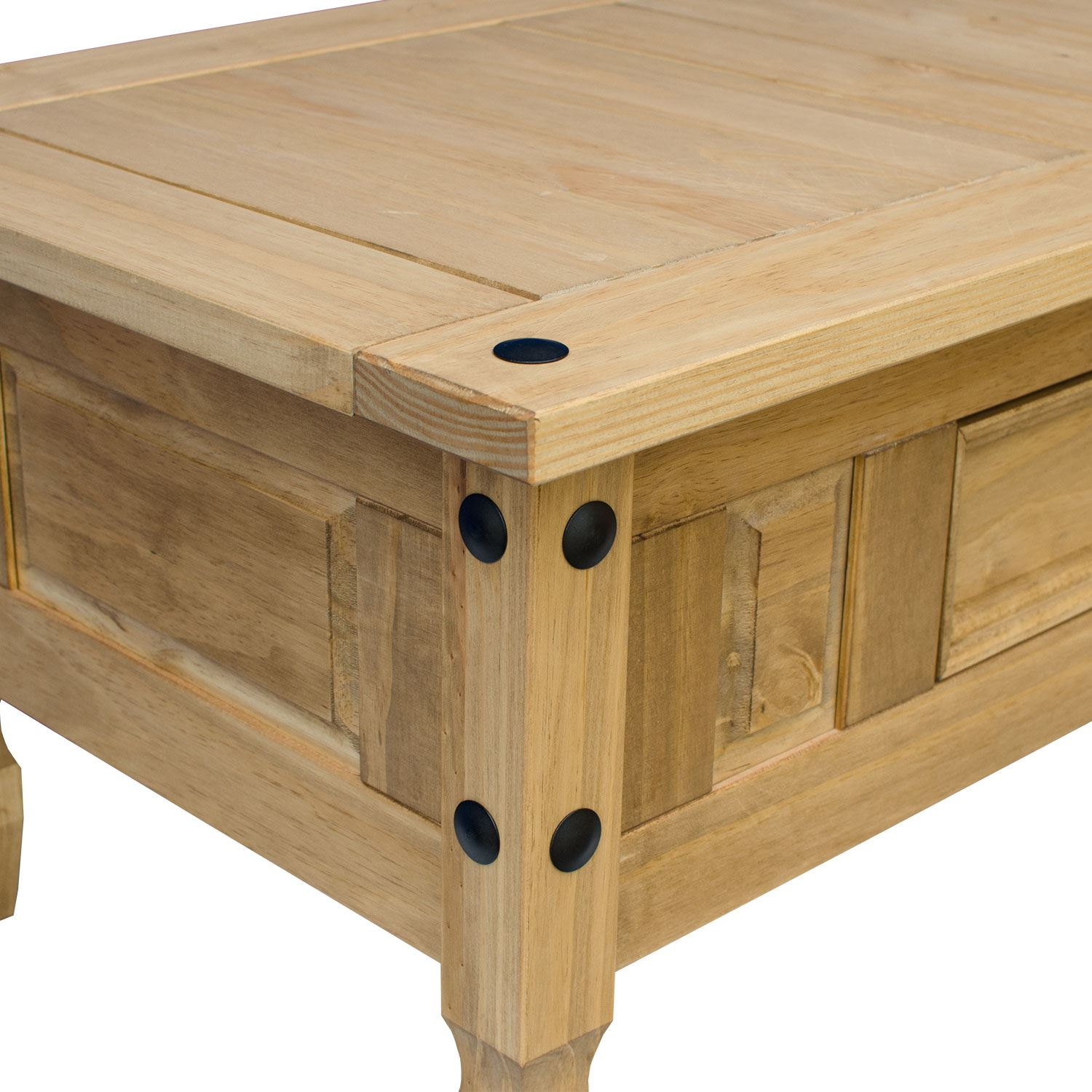 Coffee Table Pine 1 Drawer Corona Mexican Pine Occasional Furniture New Ebay