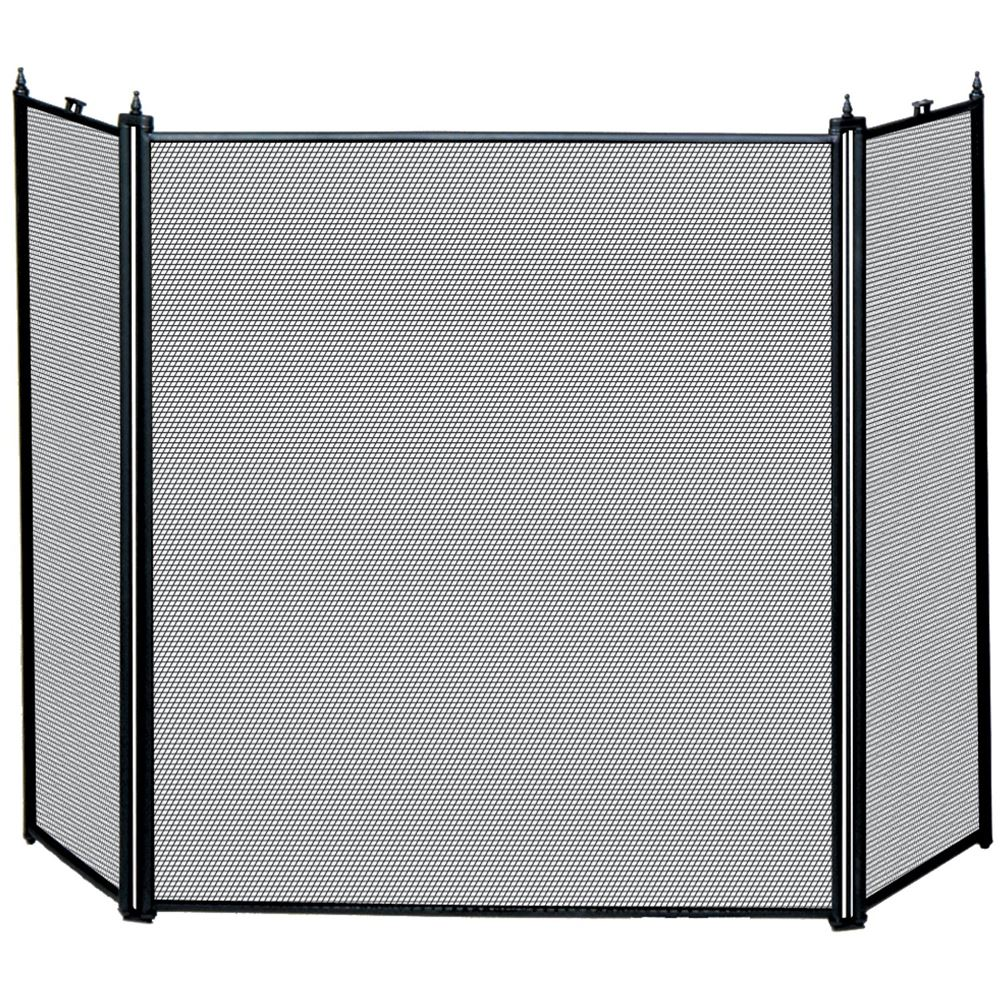 Fire Guard Freestanding Panel Spark Fireplace Screen Protector Safety Cover Ebay