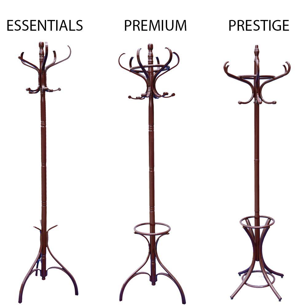 coat stand coat hat jacket umbrella floor standing rack clothes hanger hooks ebay. Black Bedroom Furniture Sets. Home Design Ideas